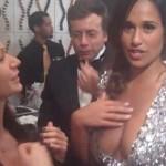 Rita Pereira e o Decote nos Emmys!