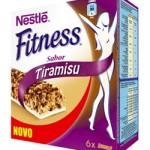 Barras de Cereais Fitness com sabor a Tiramisu
