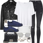 Black and white look confortável  quem concorda?