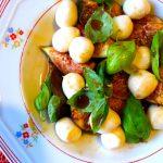 Salada de Figos com Mozarella e Mel
