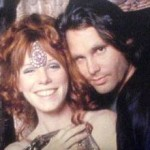 Pamela e Jim Morrison