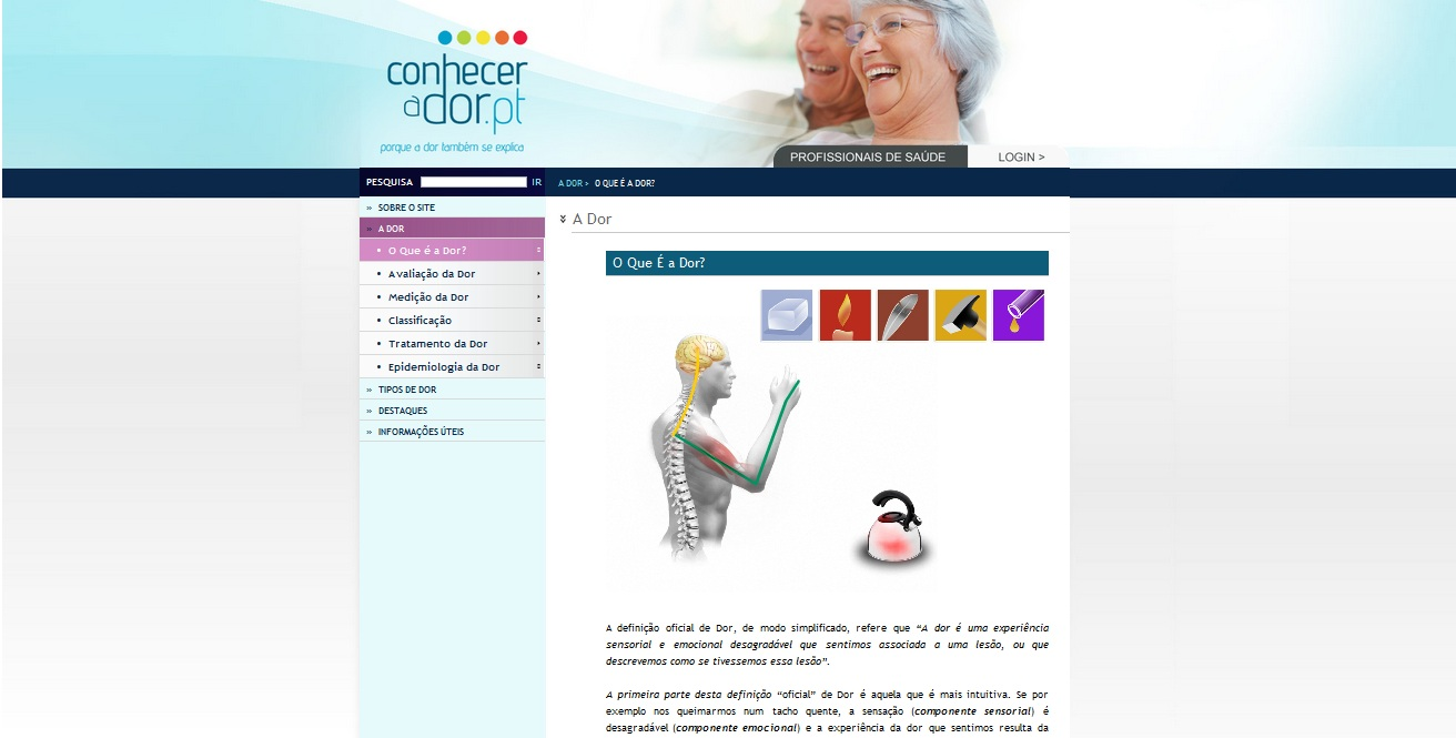 Printscreen Website_Sobre_a_Dor
