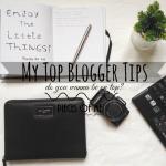 Top Blogger Tips