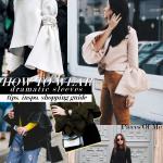 Woman Trend Alert: SS'17 Statement Sleeves