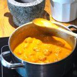 Molho de tomate com (5) vegetais, pronto a usar e congelar