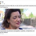 E os alunos e pais a defenderem a conduta dos vândalos em Espanha?