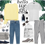 Weekend In a Comfy-Chic Style