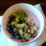 Taça de Iogurte, Fruta e Frutos Secos