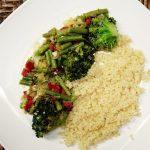Quinoa com Mix de Legumes Chineses