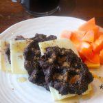 Waffles de Batata Doce e Alfarroba