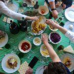 Tacos de Bacalhau Fresco Iglo em Polme de Espumante