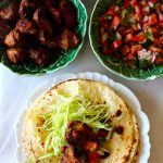 Tacos com Carne de Porco à Mexicana