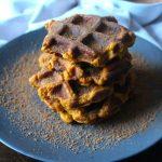 Waffles de Abóbora