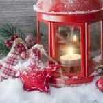 Decoração Natal em vidro
