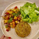 Legumes Assados com  Pesto de Rúcula e Caju